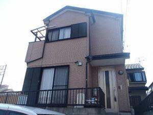 「Y様こだわりの外観を活かしたクリアー塗装で新築同然の仕上がりに!(千葉県松戸市)」のBefore写真