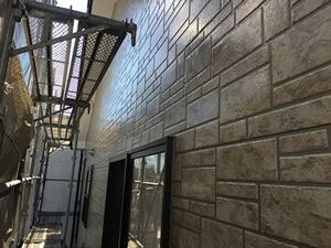 「築8年のサイディング外壁をクリアー塗装。光沢のある 外観に変身!(千葉県市川市)」のAfter写真