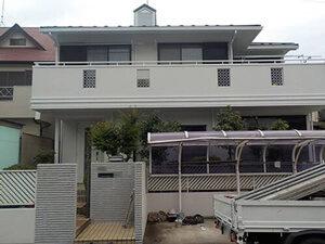 「キッカケは門扉の汚れ!外壁と屋根をまとめてリフォームしたご住宅(神奈川県横浜市)」のAfter写真
