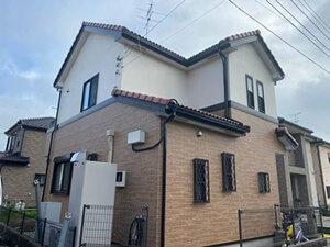 「ひび割れたサイディングを補修!外壁とベランダをまとめて塗装(千葉県市川市)」のAfter写真