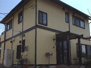 「築9年のI様邸。黒ずんでしまったモルタル外壁も塗装でピカピカに!(千葉県船橋市)」のAfter写真