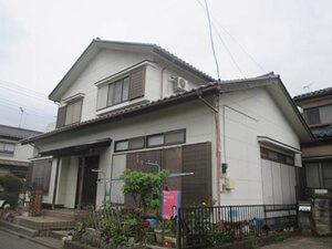 「戸建て住宅では珍しい「ALC外壁」を使用したA様宅の外壁塗装(千葉県船橋市)」のBefore写真