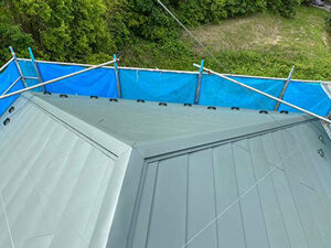 「色あせが目立つようになったスレート屋根を重ね葺き!築16年の住宅(千葉県鎌ケ谷市)」のAfter写真