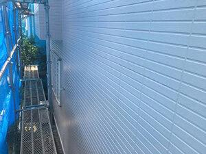 「築15年、サイディング外壁の住宅を塗装。汚れを落としてピカピカに!(千葉県市川市)」のAfter写真