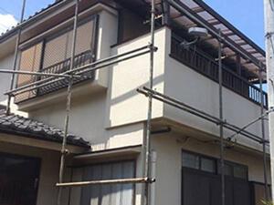 「ひび割れが生じたモルタル外壁を補修し、約13年ぶりに再塗装!(神奈川県横浜市)」のAfter写真