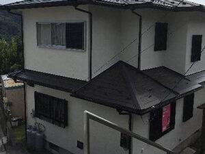 「築16年のモルタル外壁をフッ素樹脂塗料で塗装!光沢のある住宅に!(千葉県松戸市)」のAfter写真