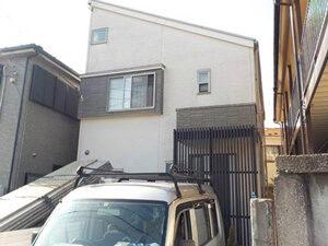 「外壁・屋根・ベランダのメンテナンスをまとめて行ったN様邸(千葉県市川市)」のBefore写真