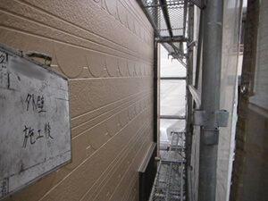 「築9年の外壁塗装!目地を修復し新築同様に生まれ変わったS様(千葉県松戸市)」のAfter写真
