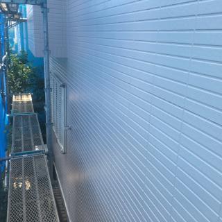 築15年、サイディング外壁の住宅を塗装。汚れを落としてピカピカに!(千葉県市川市)