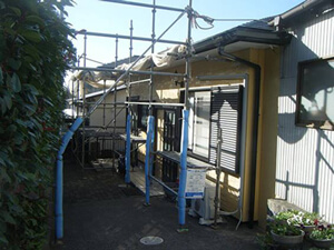 「築12年のサイディング外壁が塗装でカラーを変えてピカピカに変身!(千葉県船橋市)」のBefore写真