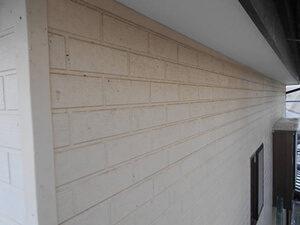 「コケが目立つサイディング外壁を塗装!ピカピカに変身したK様邸(千葉県浦安市)」のBefore写真