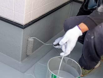 防水塗装とは?必要な理由と時期、場所別の防水方法を解説!