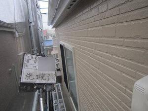 「チョーキングが発生した外壁、黒ずみが目立つベランダを一緒に塗装!(東京都大田区)」のAfter写真