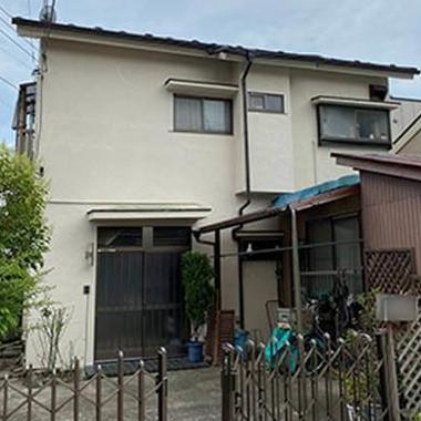 劣化で弱ったモルタル外壁の補強と塗装!軽量な屋根に葺き替えました(東京都町田市)