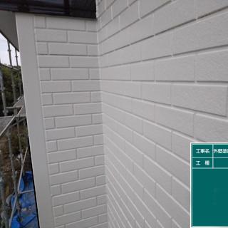 ひび割れが発生した築10年のサイディング外壁を塗装した施工事例(千葉県千葉市)