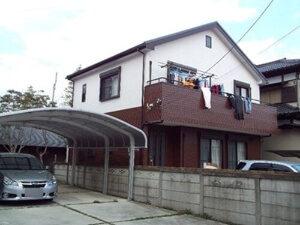 「2種類のサイディングボードを色を変えて塗装したT様邸(千葉県習志野市)」のAfter写真