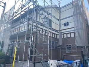 「コケが気になる外壁と、塗装が色あせた屋根をまとめて塗装!(東京都福生市)」のAfter写真