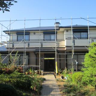 1階と2階で色を分けた塗装に!屋根も塗装し新築のようなF様邸(千葉県松戸市)