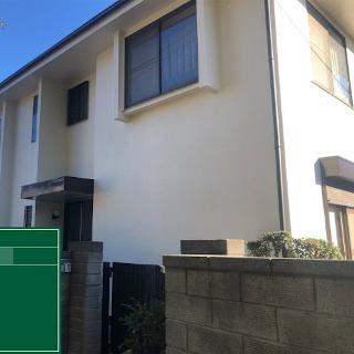 ひび割れが生じたモルタル外壁を補修・塗装したM様邸の施工事例(東京都三鷹市)