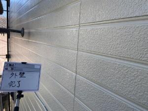 「築年数が経過したトタンとサイディング外壁が塗装できれいに!(神奈川県大和市)」のAfter写真