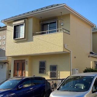 外壁塗装と屋根の重ね葺きで新築のような住宅になったM様邸(千葉県市川市)