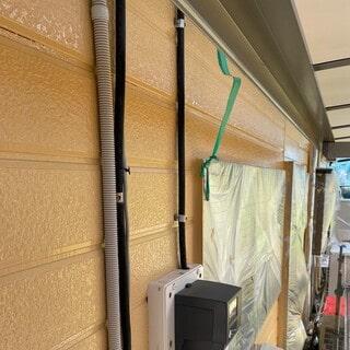 築15年のサイディング外壁をイエローで塗装!華やかになりました!(千葉県千葉市)