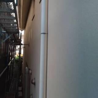 モルタル外壁が真っ白に大変身!ベランダと窓枠もキレイになりました(東京都国分寺市)