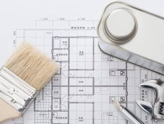 外壁塗装で図面が役立つ!塗装面積で特に重要なのは平面図と立面図!